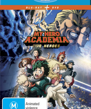 My Hero Academia - The Movie: Two Heroes DVD / Blu-Ray Combo