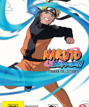Naruto Shippuden Chakra Collection 1 DVD