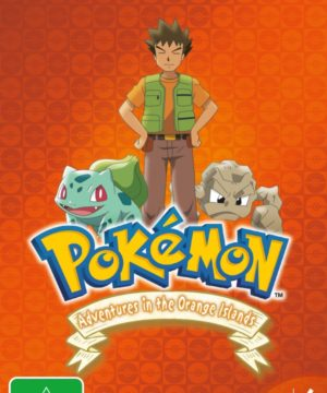 Pokemon Adventures In The Orange Islands Season 2 DVD
