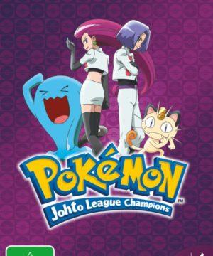 Pokemon Johto League Champions Season 4 DVD
