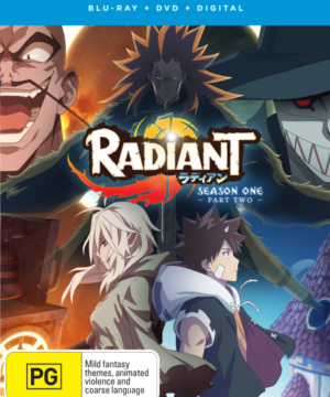 Radiant Part 2 (Eps 13-21) DVD / Blu-Ray Combo