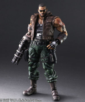 Remake Play Arts Barret Wallace ver 2