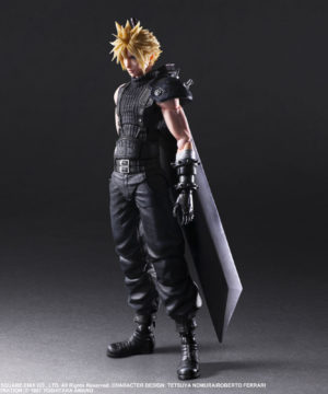 Remake Play Arts Kai Cloud Strife ver 2