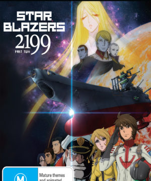 Star Blazers: Space Battleship Yamato 2199 Part 2 (Eps 14-26) DVD / Blu-Ray Combo