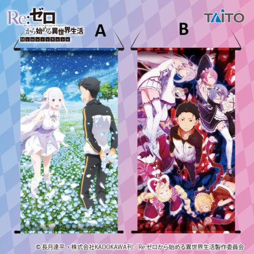 Taito Re Zero Big Tapestry ver B