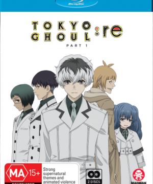 Tokyo Ghoul:Re (Season 3) Part 1 (Eps 1-12) (Blu-Ray)