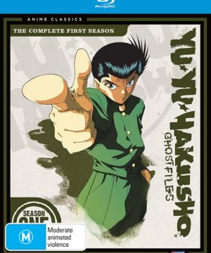 Yu Yu Hakusho Complete Season 1 Blu-Ray
