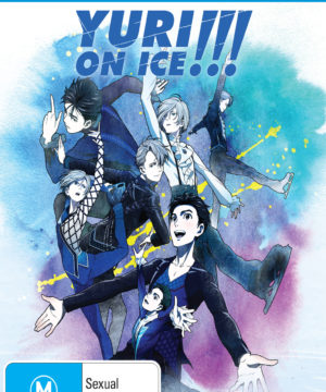 Yuri!!! On Ice Complete Series DVD / Blu-Ray Combo