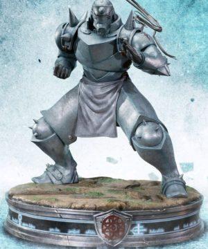 Fullmetal Alchemist Alphonse Elric Grey Statue