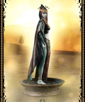 Legend of Zelda - True Form Midna Statue