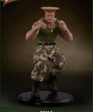 Street Fighter - Guile Statue