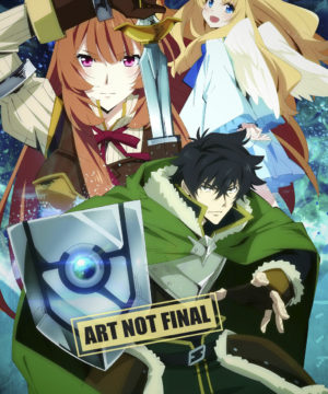 The Rising of the Shield Hero Season 1 Part 1 DVD / Blu-Ray Combo