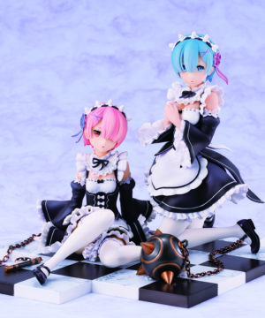 Rem & Ram Special Stand Complete Set