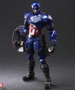 Bring Arts Captain America designed by Tetsuya Nomura