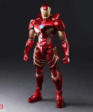 Bring Arts Iron Man designed by Tetsuya Nomura