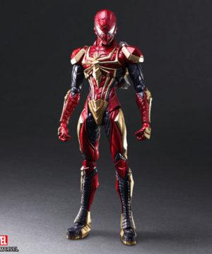 Brings Arts Spider-Man designed by Tetsuya Nomura