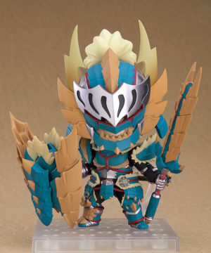 Nendoroid Hunter Male Zinogre Alpha Armor