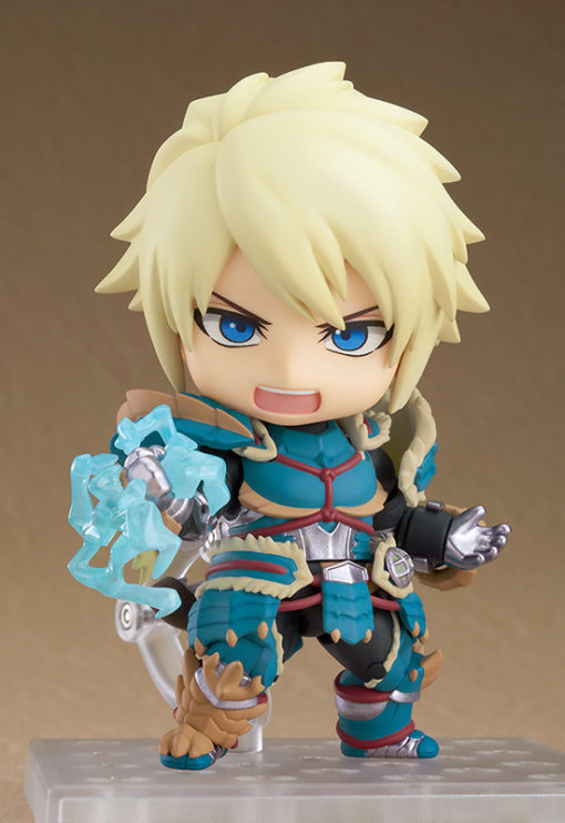 Nendoroid Hunter Male Zinogre Alpha Armor DX