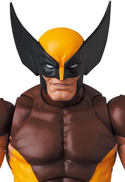 X-MEN MAFEX Wolverine Brown Comic Ver