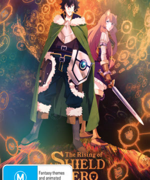 The Rising of the Shield Hero Season 1 Part 2 DVD / Blu-Ray Combo (Limited Edition)