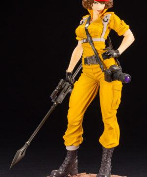 G I Joe Lady Jaye Canary Ann Color Bishoujo Statue
