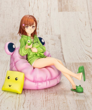 Kotobukiya Misaka Mikoto Gekota Covered Deluxe Edition
