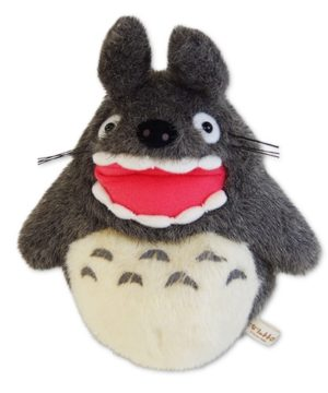 Large Totoro Barking Small Plush