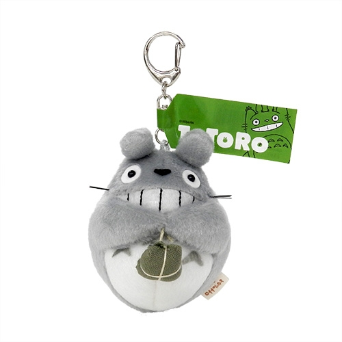 Large Totoro Laughing Keychain