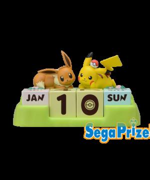 Pokemon - Eevee & Pikachu Calendar