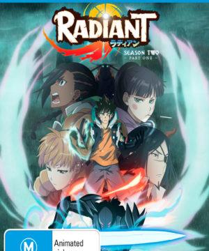 Radiant Season 2 Part 1 DVD Blu-Ray Combo