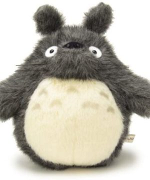 Totoro Medium Plush Dark Grey