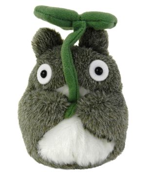 Beanbag Large Totoro with Leaf