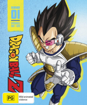 Dragon Ball Z Season 1 Limited Edition Steelbook Blu-Ray