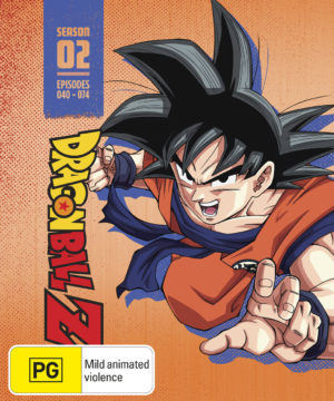 Dragon Ball Z Season 2 Limited Edition Steelbook Blu-Ray
