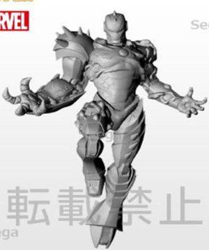 Marvel Maximum Venom Iron Man