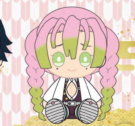 Demon Slayer Mitsuri Kanroji Plush Furyu Мицури канродзи / mitsuri kanroji. animeworks