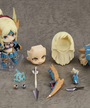 Nendoroid Hunter Female Zinogre Alpha Armor DX