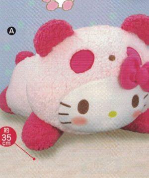 Momoko Panda x Hello Kitty Plush