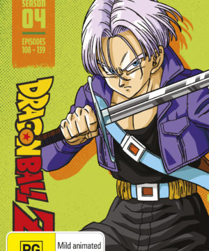 Dragon Ball Z Season 4 Limited Edition Steelbook Blu-Ray