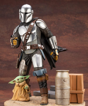 Star Wars Mandalorian & The Child ARTFX