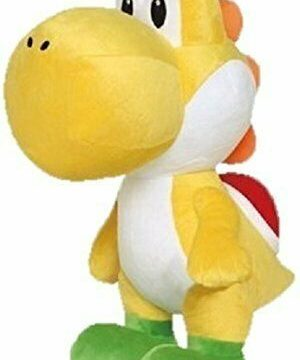 Super Mario Yellow Yoshi Plush