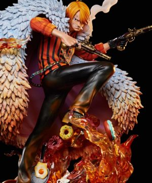 One Piece Log Collection Large Statue Series Sanji