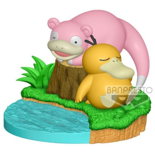 Pokemon Relaxing Time Slowpoke & Psyduck