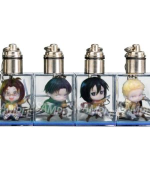 Attack on Titan Trading Full Color 3D Crystal Keychain B Ver.