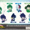 """""""My Hero Academia"""" Rubber Mascot Collection 2 Eraser & Pencil A Box"""