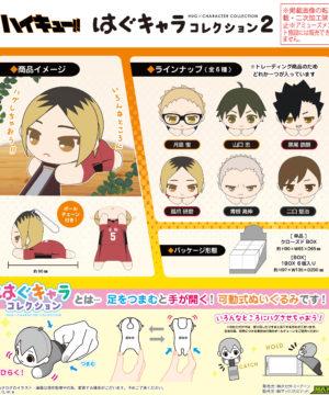 """HQ-06 """"Haikyu!!"""" Hug x Character Collection 2"""