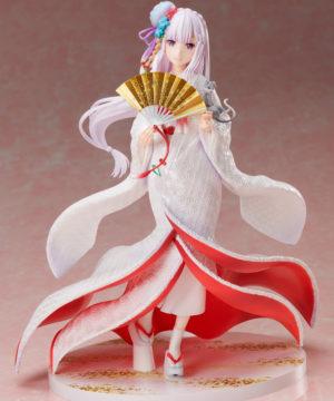 """Re:Zero -Starting Life in Another World-"" Emilia -Shiromuku- 1/7 Scale Figure"