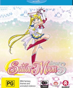 Sailor Moon Super S (Season 4) Complete Series (Blu-Ray)