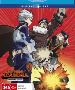 My Hero Academia - Season 4 Part 2 (DVD / Blu-Ray Combo)