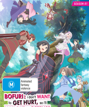 Bofuri: I Don't Want to Get Hurt, so I'll Max Out My Defense (Season 1) (Blu-Ray/dvd Combo)